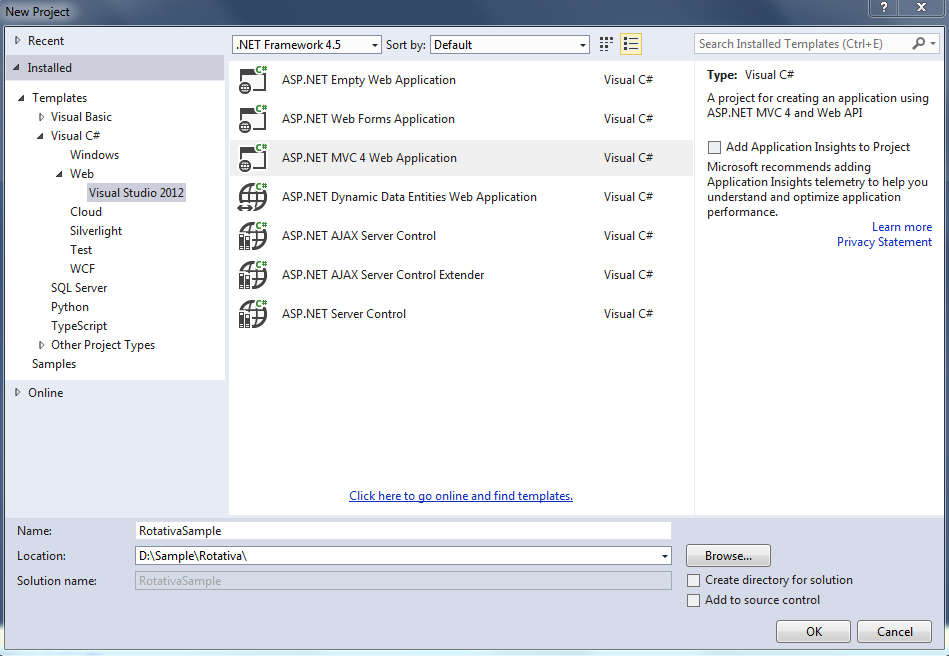 Sample process to generate PDF with Rotativa in Asp Net MVC