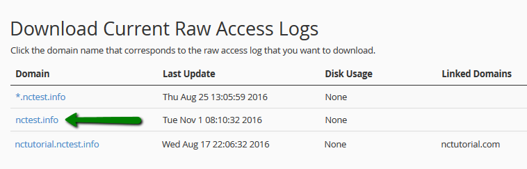 Linux -- How can I check my website access logs